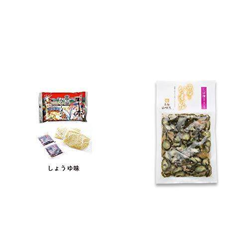 [2点セット] 飛騨高山ラーメン[生麺・スープ付 (しょうゆ味)]・飛騨山味屋 しば漬(120g)
