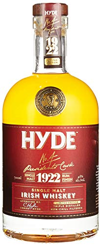 Hyde No. 4 Presidents Cask 1922 Limited Edition Rum Finish Whisky (1 x 0.7 l)