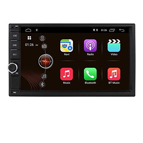Reproductor Multimedia para automóvil Estéreo para automóvil Bluetooth Manos Libres Android 10 Unidad Principal 2 + 32GB 4G WiFi SWC Mirror Link Pantalla táctil de 7 Pulgadas Autoradio GPS Navi Repro