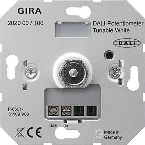 Gira DALI-Potentiometer 202000 Tunable WH Einsatz Designneutral Dimmer 4010337023463