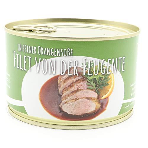 Diem Flugentenfilet / Entenbrust / Ente / in Orangensoße 400g (19,50 € / Kg)