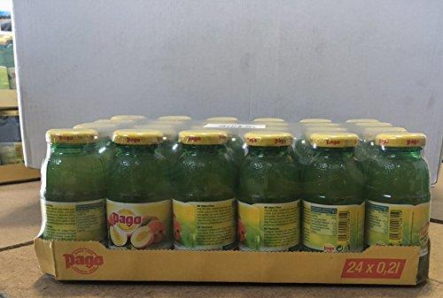 Pago Pfirsichfrucht cl 20 x 24 Glasflaschen von Fruchtsaft