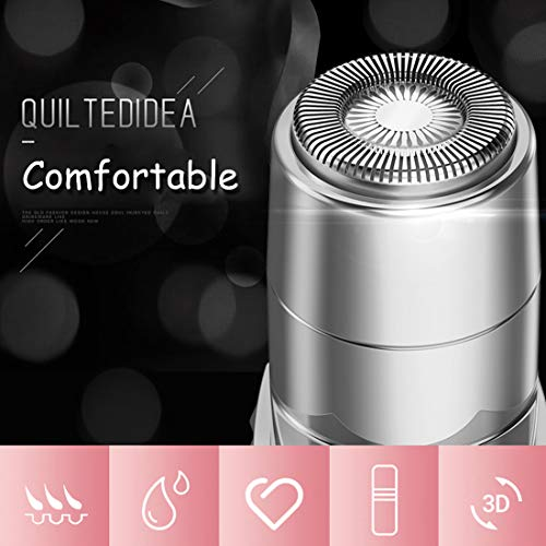 Facial Hair Remover for Women,Electric Painless Hair Removal Rechargeable, USB Charging, Portable Hair Body Shaver Hair Removal Tool for Women, Easy to Use, Holiday Gift