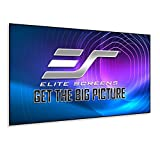 Elite Screens Aeon, 120-inch 16:9, Grey Material Home Theater Fixed Frame EDGE FREE