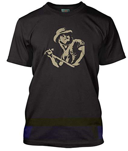 Ronnie Van Zant Inspired Lynyrd Skynyrd, Herren T-Shirt, Large, Schwarz