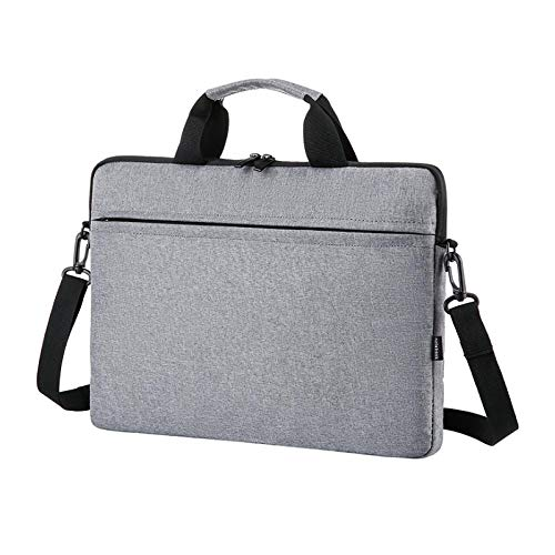XIANNV Black Laptop Sleeve Case 14/15./15.6 Inch Notebook Travel Carrying Bag Waterproof Protective Cover For Macbook Air Pro 13 15 (Color : Gray, Size : 15 Inch)