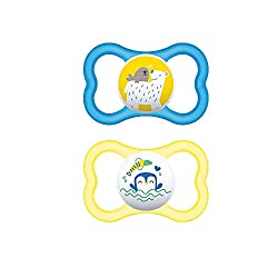 MAM Sensitive Skin Pacifiers