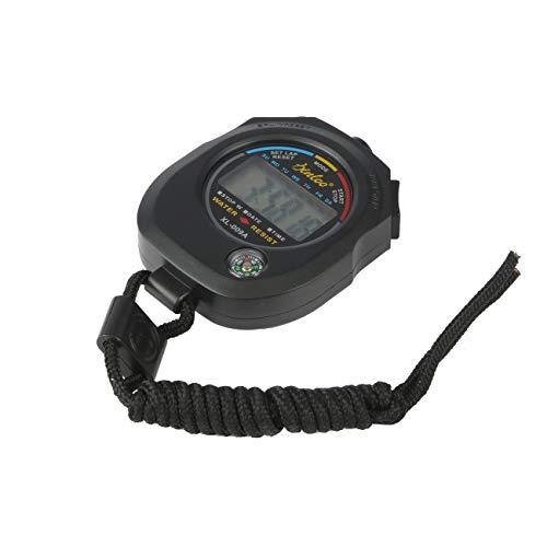 Ashley GAO ABS Contador de Tiempo Digital LCD Cronómetro Deportivo Cronógrafo Deportivo Impermeable Profesional Temporizador Duradero