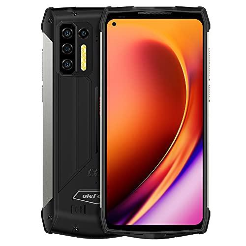 Ulefone Power Armor 13 Outdoor Handy ohne Vertrag,13200mAh Akku,Infrarot Entfernungsmessung, 6,81'' 48MP Kamera, IP68 Wasserdichtes Android 11 Smartphone, Helio G95 8GB 256GB, NFC Drahtloses Laden