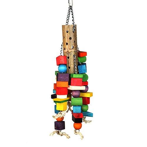happypet The Bird House, bambù Supersize Puzzle Bird Toy
