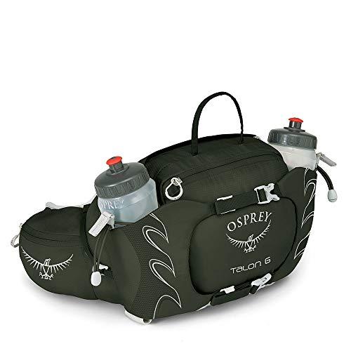 Osprey Talon 6 Hiking Lumbar Hydration Pack met 2 x 570 ml BPA-vrije hydraulische flessen