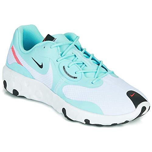 Nike Renew Lucent 2 Zapatillas Moda Mujeres Azul/Blanco - 40 1/2 - Zapatillas Bajas Shoes