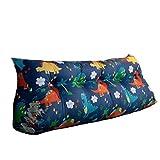 Almohadilla del dormitorio cama doble respaldo lumbar almoha