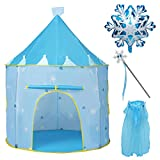 Joyjoz Prinzessin Spielzelt kinderzelt, Schloss Zelt für Mädchen, Kinder Spielhaus Pop-Up-Zelte...