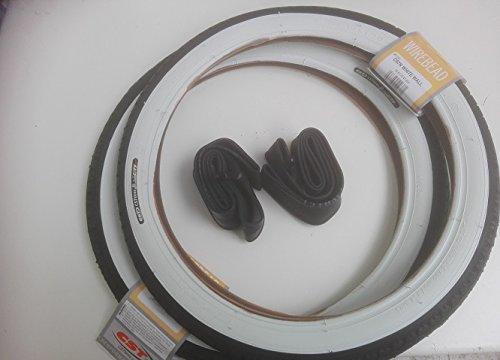 2x CST Weißwand 16 Zoll Reifen Decke Mantel Fahrrad Klapprad 16 x 1.75 | 47-305