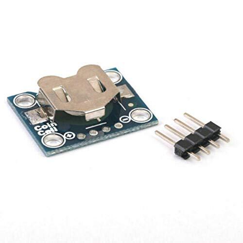 Merssavo 5 stücke Knopfbatteriehalter Modul, 12mm Knopfbatterie Verteiler Cr1220 Batterieunterbrecher Panel Knopfbatterie Sockel Modul