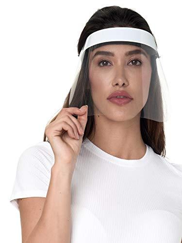 Smith Solo Gesichtsschutz Visier aus Kunststoff - Augenschutz Spuck-Schutz - Face-Shield Schutzschild mit verstellbarem Gummiband (10)