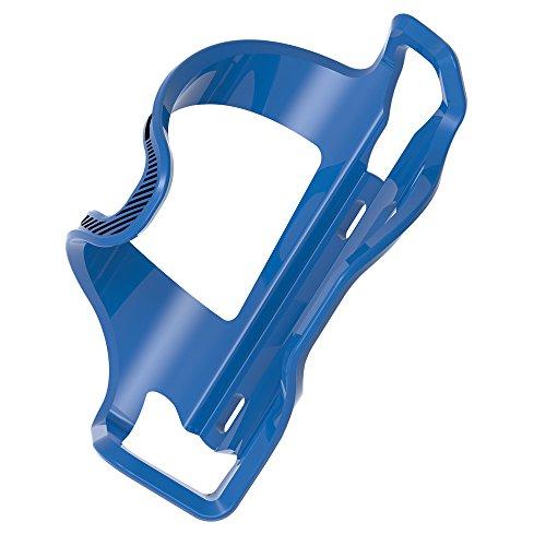 LEZYNE(レザイン) コンパクトフレーム対応、サイド取り出しデザインのボトルケージ FLOW CAGE SL-R BLUE 【日本正規品 /2年間保証】 ブルー