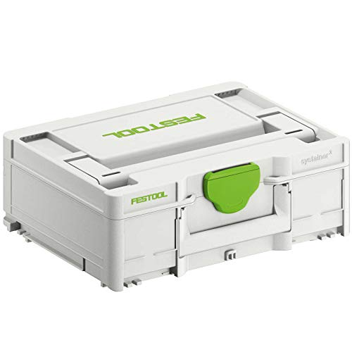 Festool 204841 Systainer T-LOC SYS-3 M 137 396 x 296 x 137 mm, Farbe, 396mm x 296mm x 137mm