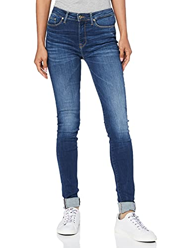 Tommy Hilfiger Damen COMO RW DOREEN Skinny Jeans, Blau (DOREEN 410), W27/L30