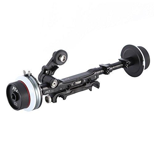JTZ DP30 Cine Follow Focus sequentie focus snelspanning/Quick Release 15mm / 19mm Kit voor FS700 C300 C500 BMCC URSA Mini A7M2 GH4 GH5 ARRI PL lenzen