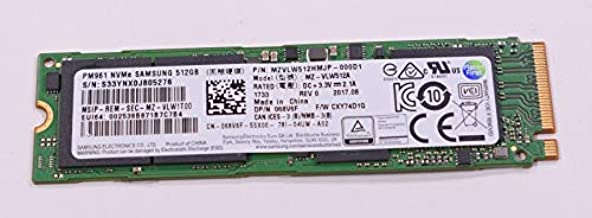 FMS Compatible with 68V6F Replacement for Dell 512gb TLC Pci Express 3.0 X4 Nvme M.2 2280 Internal Solid State Drive
