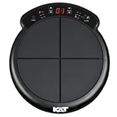 Compact and affordable electronic drum and percussion instrument Four velocity-sensitive pads 50 High quality drum and percussion sounds USB/MIDI Connectivity Two additional inputs for hi-hat controller pedal and bass drum trigger