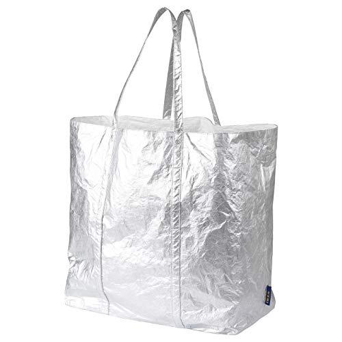 Tote Bag Large, Silver-Colour, Product Size: Width: 43 cm Depth: 25 cm Height: 45 cm Max. Load: 20 KG Volume: 80 Liter