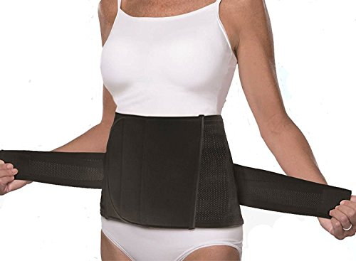 Shrinkx Belly by UpSpring Baby - Postpartum Belly Band Girdle (Black - S/M)