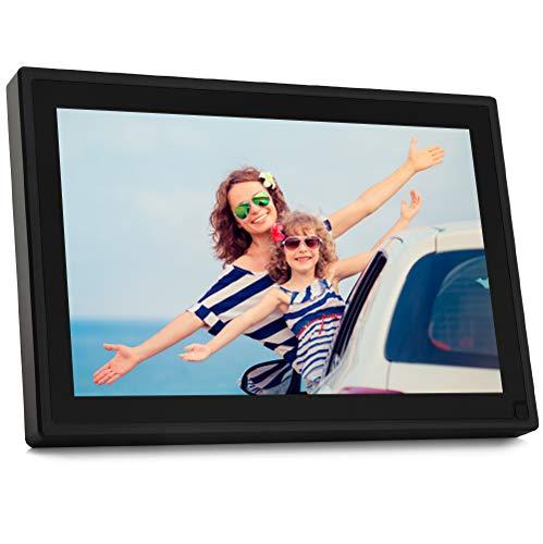 BSIMB WiFi Digital Picture Frame 10.1 Inch WiFi Digital Photo Frame 1280x800 IPS...