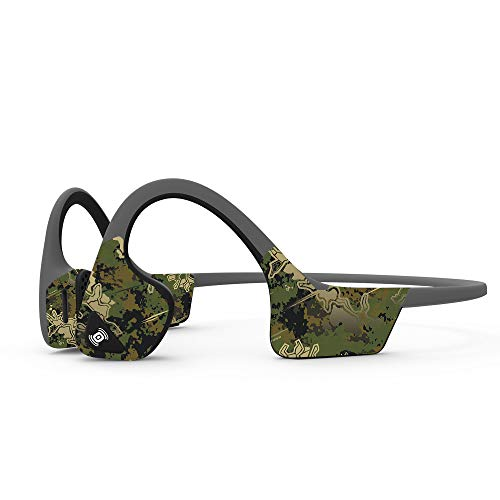 MightySkins Skin Compatible with Aftershokz Trekz Air Wireless - Viper Woodland | Protective, Durable, and Unique Vinyl Decal Wrap Cover | Easy to Apply, Remove, and Change Styles | Made in The USA