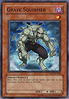 Yu-Gi-Oh! - Grave Squirmer (DP07-EN008) - Duelist Pack 7 Jesse Anderson - 1st Edition - Super Rare