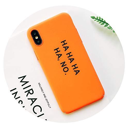 Palabras Divertidos Preciosa para el iPhone Plus 7 6 8 6S Plus Plus X Caso plástico Lucky 7 Fresca de la Cubierta para el iPhone Caso 7 XS MAX XR,12,para el iPhone 7 Plus