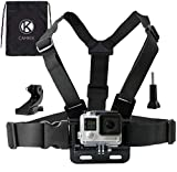 CamKix replacement <span class='highlight'>Chest</span> <span class='highlight'>Mount</span> <span class='highlight'>Harness</span> compatible with Gopro Hero 6, 5, Black, Session, Hero 4, Session, Black, Silver, Hero  LCD, 3 , 3, 2, 1 – Fully Adjustable <span class='highlight'>Chest</span> Strap