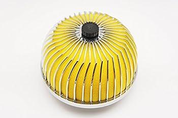 Autobahn88 Mushroom High Flow Air Intake Filter 3inch  76mm  Inlet Oil-Free  Yellow