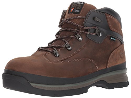 Timberland PRO - Chaussure pour Homme Euro Hiker Al WP Brown, 45 EU, Dark Brown