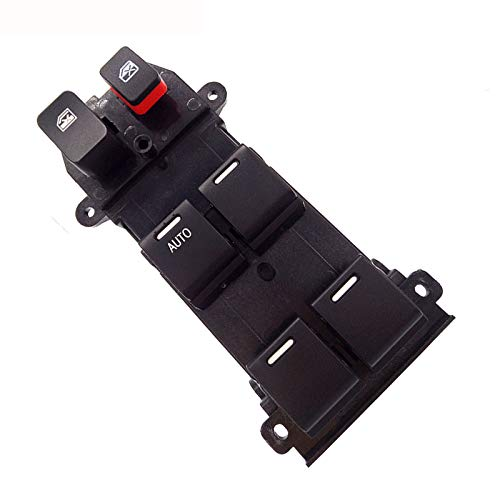 Lfldmj 35750-SWA-K01 35750SWAK01 Interruptor de Ventana Principal de energía del Lado del Conductor, para Honda CR-V 2.4L 2007-2011