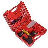 VHNBVHGKGHJ Herramienta de reparación de Pistola de Bomba de vacío Manual de automóvil Multifuncional 2 en 1 Auto Rojo y Negro