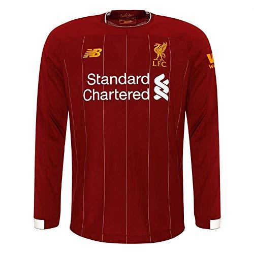 New Balance Junior International Soccer 2019-2020 Long Sleeve Jersey Liverpool F.C., Home, Large