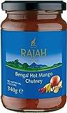 Rajah Mango Chutney, Picante 340 g - Lot de 2