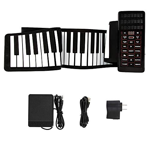 Great Price! SEAAN Portable 88-key Keyboard, Scroll-able Piano with Built-in Amplifier, Rechargeable...