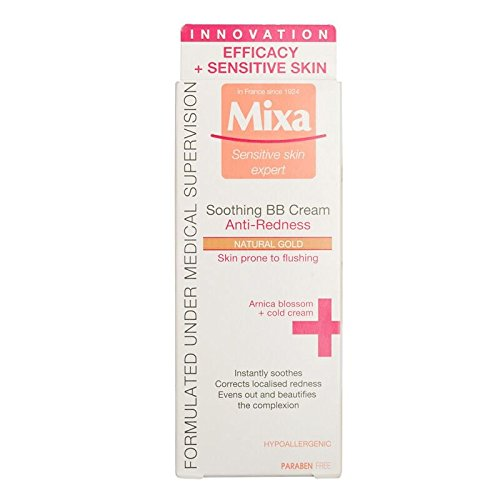 MIXA BB+ Anti-redness Soothing BB Cream - Natural Gold by MIXA