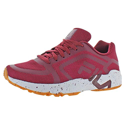 Fila Men's Mind Bender Fitness Shoes (12, Maroon/White/Gum)