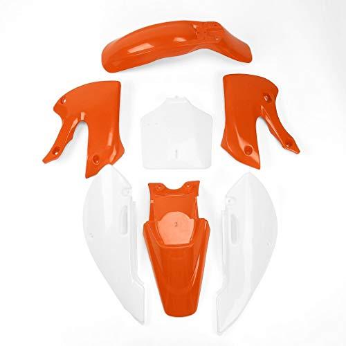 Offroad-Motorrad-Kunststoff-Außenteile passend für Kawasaki KLX110 KX65 orange