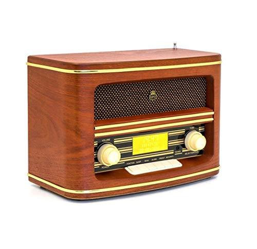 GPO Retro Winchester DAB Radio Persoonlijke analoge & digitale houten radio (persoonlijk, analoog & digitaal, DAB, FM, automatische zoekfunctie, LCD, hout)