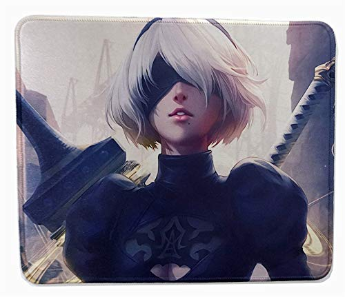 12 x 10 inches Nier: Automata Collection 2B Gaming Girl Beauty Mouse pad Mousepad mat