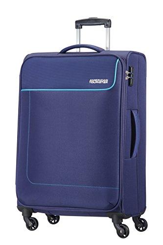 American Tourister - FUNSHINE - Spinner Bagaglio a mano 66 cm, 63.5L, Orion Blue (Blu)