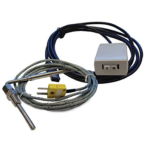 PPF EGT Exhaust Gas Temperature Sensor Kit Compatible with SCT/Bully Dog Livewire TS X4 GTX BDX