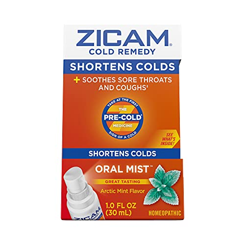 Zicam Cold Remedy Arctic Mint Oral Mist, 1 Ounce