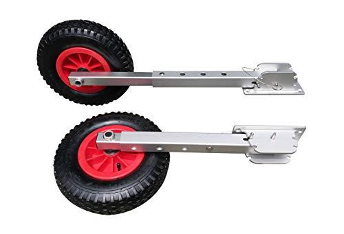 Best Price Brocraft Delux Boat Launching Wheels/Delux Boat Launching Dolly 12 Wheels for Inflatable...